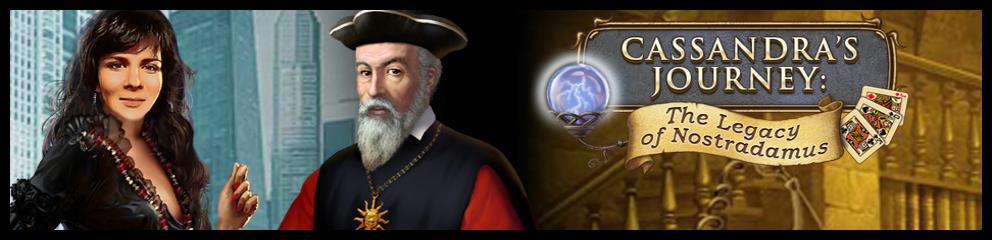 Cassandra's Journey Legacy Of Nostradamus Header Image