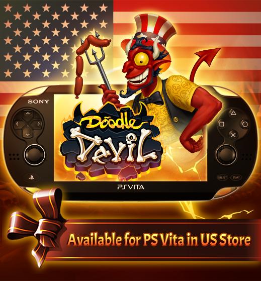 Doodle Devil PS Vita USA